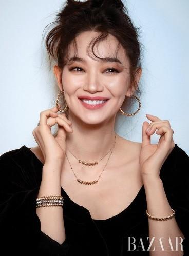 'Hồ ly 9 đuôi' Shin Min Ah đẹp xuất sắc đón Giáng sinh - ảnh 9