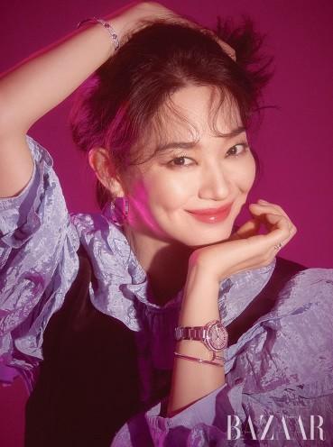 'Hồ ly 9 đuôi' Shin Min Ah đẹp xuất sắc đón Giáng sinh - ảnh 10