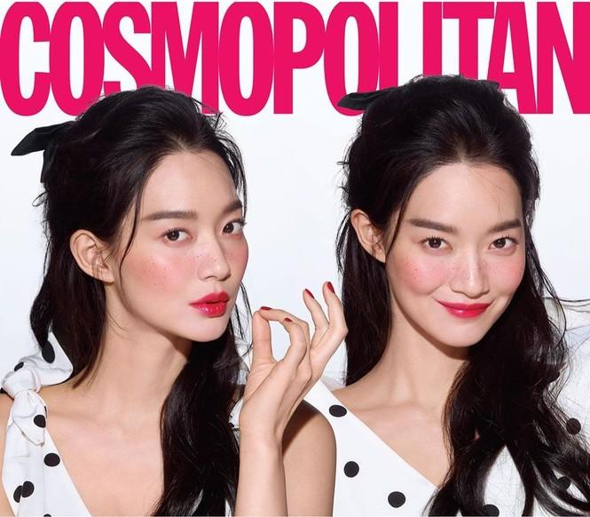 'Hồ ly 9 đuôi' Shin Min Ah đẹp xuất sắc đón Giáng sinh - ảnh 13