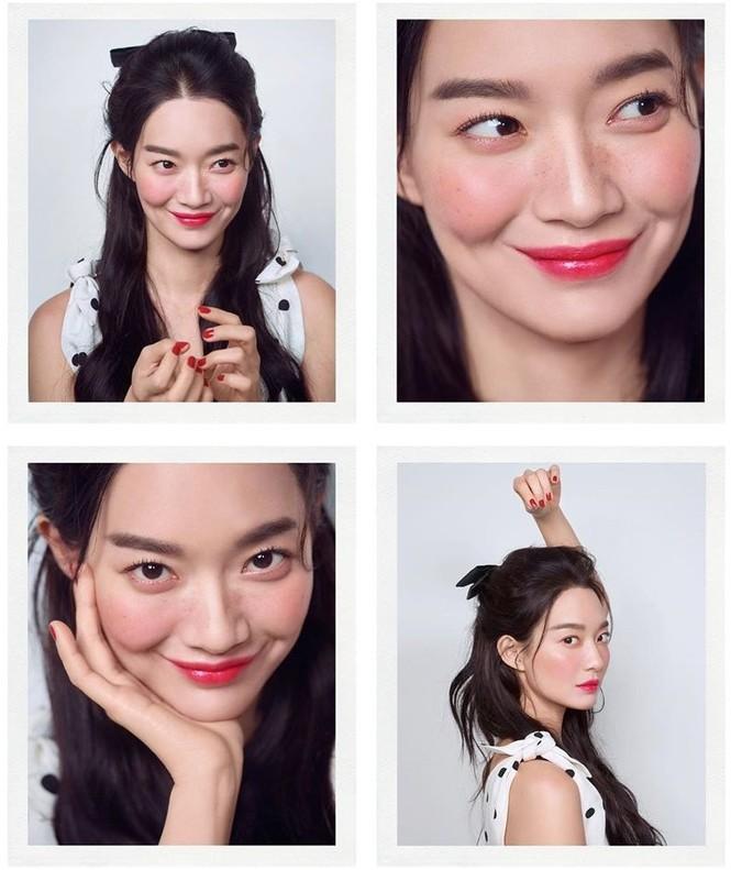 'Hồ ly 9 đuôi' Shin Min Ah đẹp xuất sắc đón Giáng sinh - ảnh 14