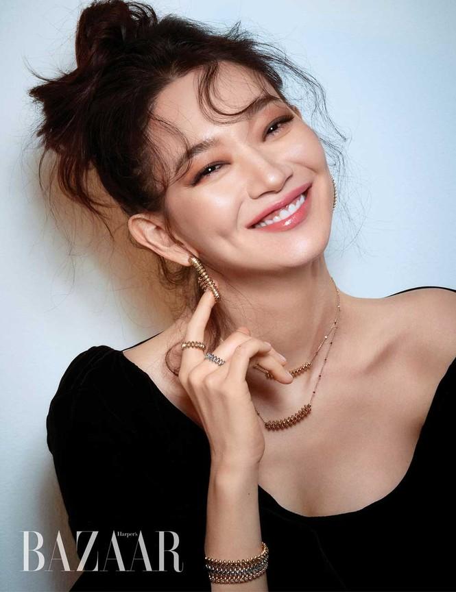 'Hồ ly 9 đuôi' Shin Min Ah đẹp xuất sắc đón Giáng sinh - ảnh 12
