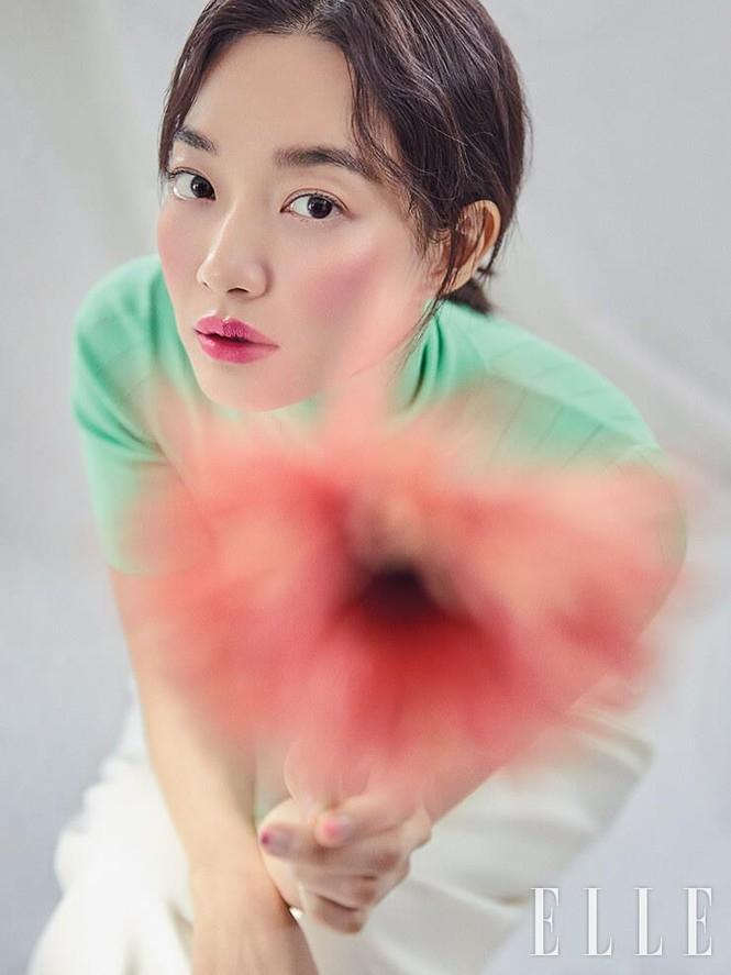 'Hồ ly 9 đuôi' Shin Min Ah đẹp xuất sắc đón Giáng sinh - ảnh 21