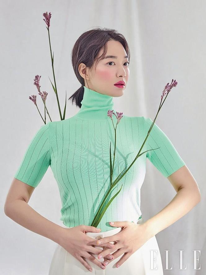 'Hồ ly 9 đuôi' Shin Min Ah đẹp xuất sắc đón Giáng sinh - ảnh 20