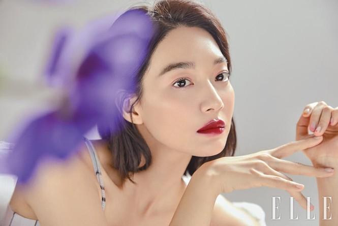 'Hồ ly 9 đuôi' Shin Min Ah đẹp xuất sắc đón Giáng sinh - ảnh 15