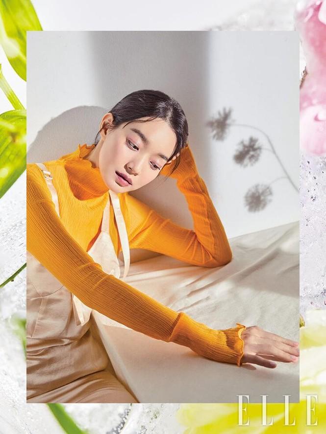 'Hồ ly 9 đuôi' Shin Min Ah đẹp xuất sắc đón Giáng sinh - ảnh 16