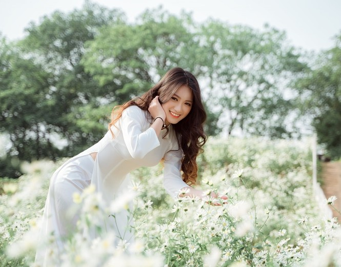 Vẻ đẹp ấn tượng của nữ sinh 2000 đạt giải Miss Bách Khoa 2020  - ảnh 3