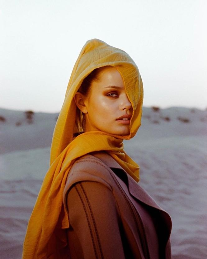 Vẻ đẹp thiên thần của nàng mẫu Na Uy Frida Aasen - ảnh 11
