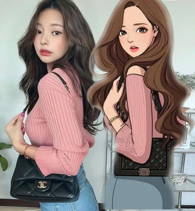 Cô gái Hàn Quốc gây 'sốt' khi trang điểm thành nhân vật truyện tranh - ảnh 3