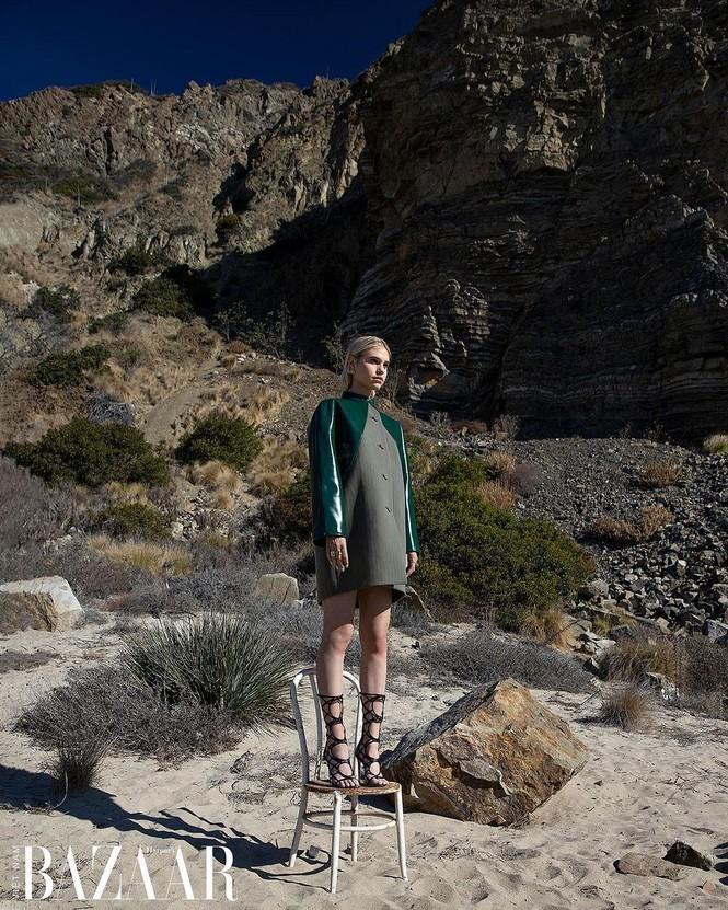 Vẻ đẹp bốc lửa của nàng mẫu Mỹ giống hệt bạn gái 'Người vận chuyển' - ảnh 15