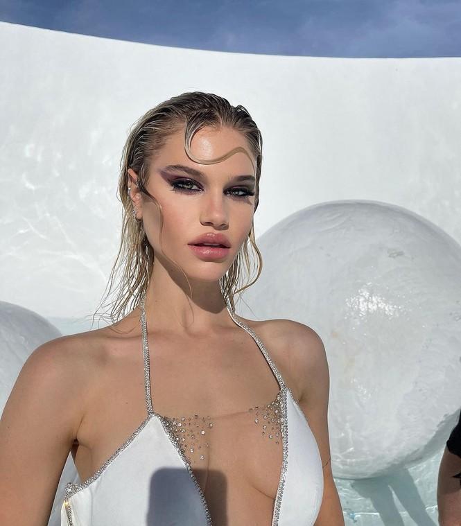Vẻ đẹp bốc lửa của nàng mẫu Mỹ giống hệt bạn gái 'Người vận chuyển' - ảnh 4