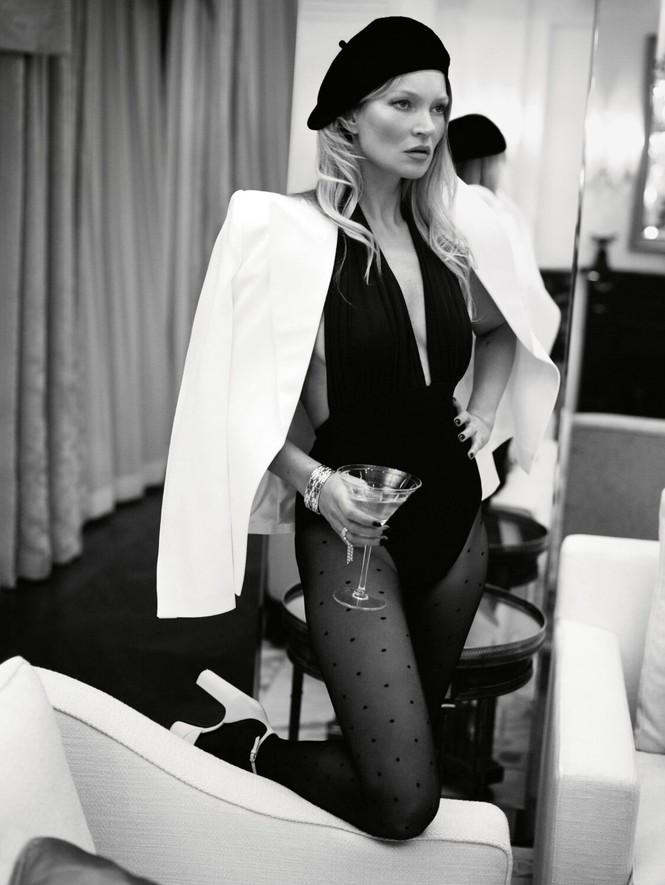 Kate Moss U50 gợi cảm đầy sức sống - ảnh 6