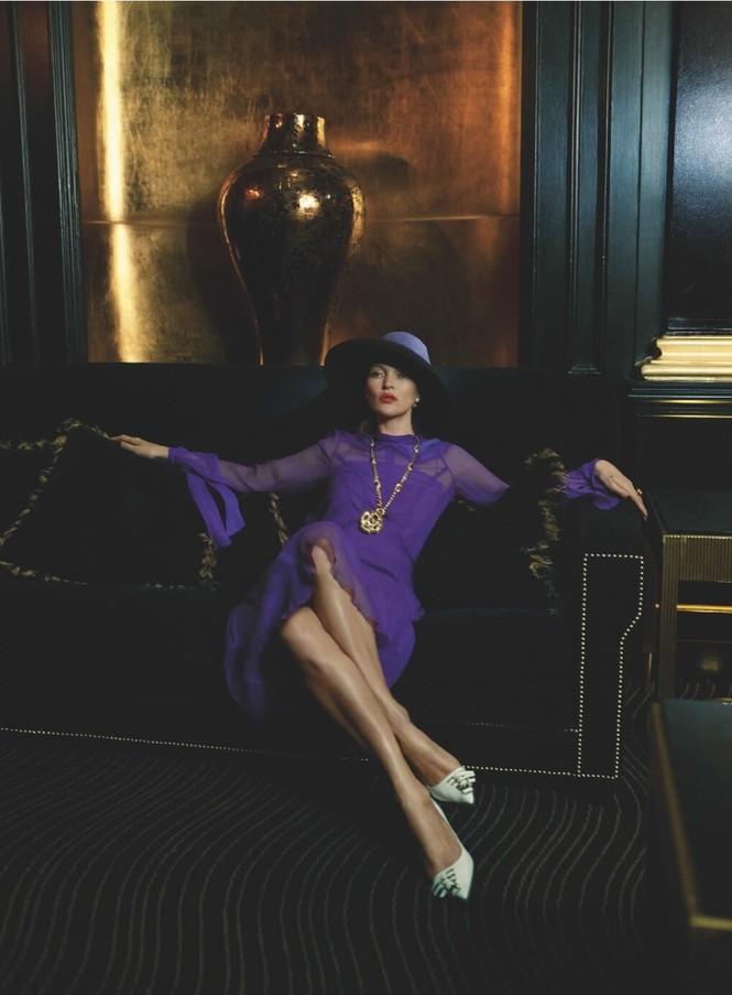 Kate Moss U50 gợi cảm đầy sức sống - ảnh 8
