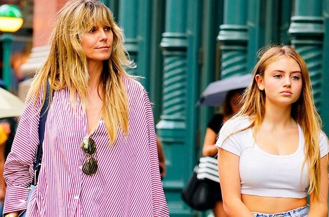 Con gái 16 tuổi của siêu mẫu Đức Heidi Klum cao 1m70, xinh như búp bê - ảnh 2
