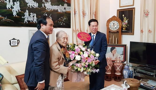 Ban Tuyên giáo Trung ương, Võ Văn Thưởng, Nguyễn Thị Bình, nguyên Phó chủ tịch nước, ộ trưởng Giáo dục Phạm Minh Hạc - ảnh 2