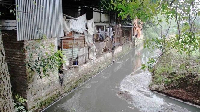 ô nhiễm, làng nghề, hoài đức, cát quế, dương liễu, nước thải, T2, kênh mương, cụm công nghiệp làng nghề dương liễu - ảnh 1