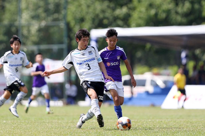 Khởi tranh Giải bóng đá thiếu niên quốc tế U13 Việt Nam - Nhật Bản  - ảnh 1