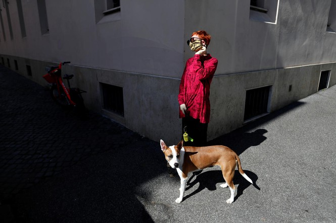 """Cả nước Ý bị phong toả vì Covid-19, chó là """"vị cứu tinh"""
