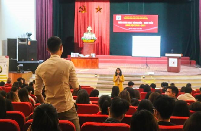 CEO Nguyễn Mến truyền cảm hứng khởi nghiệp kinh doanh đến 700 sinh viên ĐH Văn hóa Hà Nội - ảnh 2