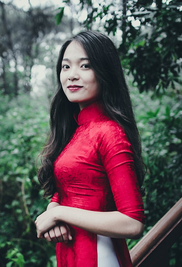 Top 10 Press Beauty 2016 rạng rỡ trong tà áo dài truyền thống - ảnh 7
