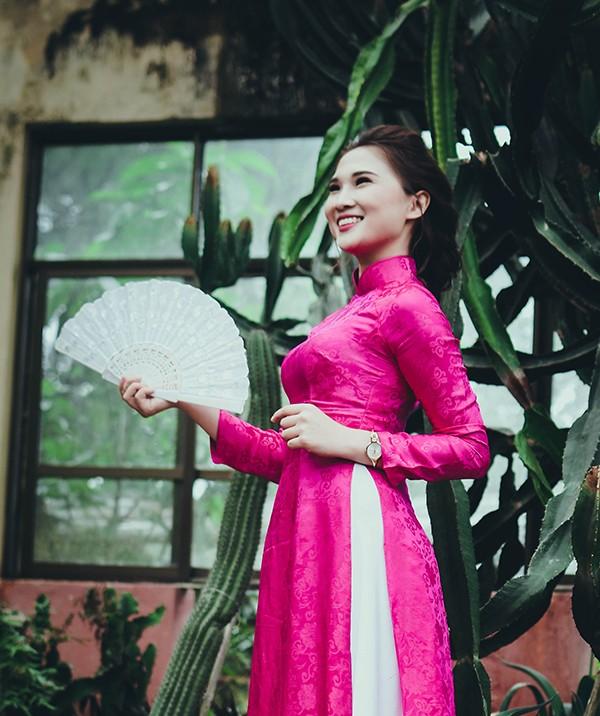 Top 10 Press Beauty 2016 rạng rỡ trong tà áo dài truyền thống - ảnh 8