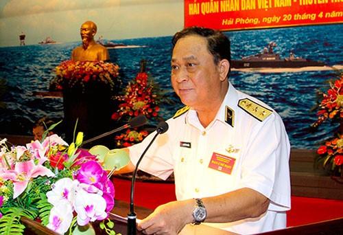 Bộ Chính trị thi hành kỷ luật Đô đốc Nguyễn Văn Hiến - ảnh 1