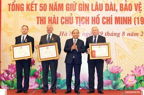 Việt Nam có thể gìn giữ lâu dài, bảo vệ tuyệt đối an toàn thi hài Bác - ảnh 1