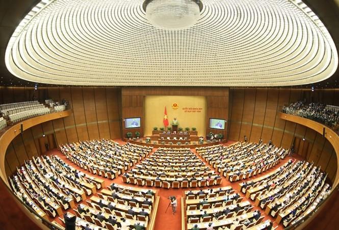 Cán bộ quy hoạch cấp chiến lược khóa XIII dự phiên chất vấn tại Quốc hội - ảnh 1