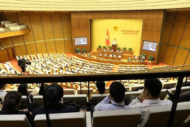 86 cán bộ quy hoạch cấp chiến lược dự phiên chất vấn tại Quốc hội - ảnh 9