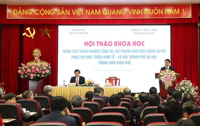 Ông Nguyễn Đức Chung: Một số nơi có biểu hiện kèn cựa địa vị, ganh tị, bè phái - ảnh 2