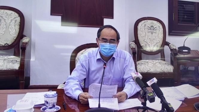 Bí thư Thành uỷ TPHCM: 'Kết quả chống dịch của TPHCM đến nay là rất tốt' - ảnh 1
