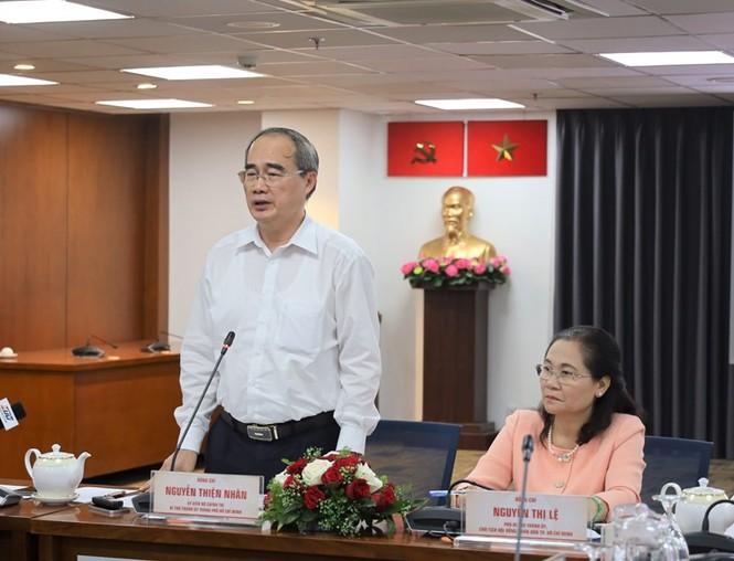 Bí thư Thành ủy Nguyễn Thiện Nhân: Đại hội của Đảng cũng là Đại hội của Nhân dân - ảnh 1