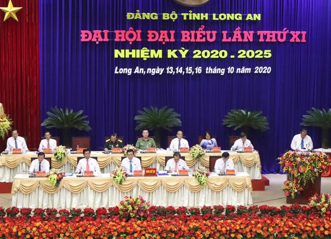 Phó Thủ tướng Thường trực Trương Hòa Bình dự Đại hội Đảng bộ Long An - ảnh 3