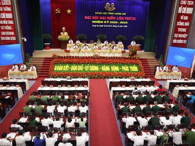 Phó Thủ tướng Thường trực Trương Hòa Bình dự Đại hội Đảng bộ Long An - ảnh 4