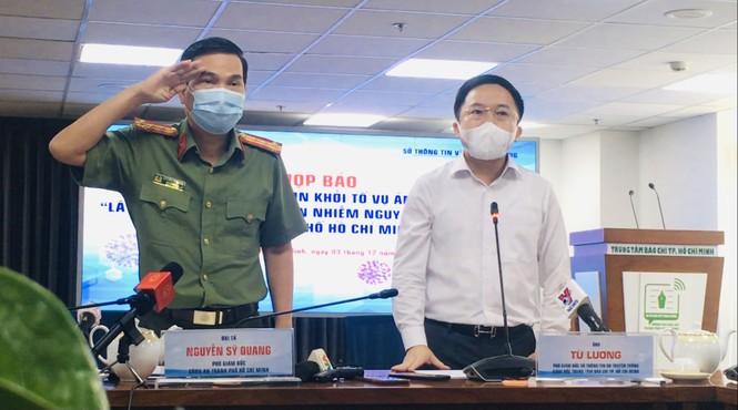 Phó Giám đốc Công an TPHCM: Vụ án làm lây lan dịch COVID có tính đặc thù - ảnh 1