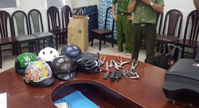 Triệt phá đường dây chuyên trộm xe máy hạng sang ở TPHCM - ảnh 2
