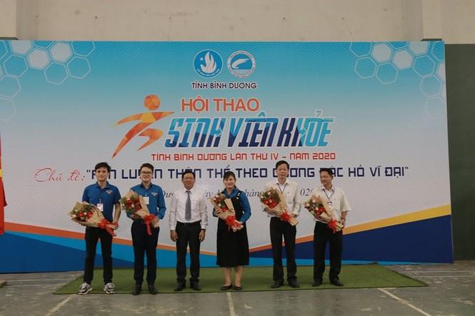 Hội thao sinh viên khỏe tỉnh Bình Dương - ảnh 2