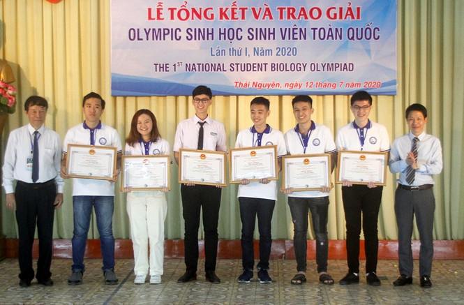 cuộc thi Olympic sinh học sinh viên toàn quốc lần thứ I – năm 2020 - ảnh 1