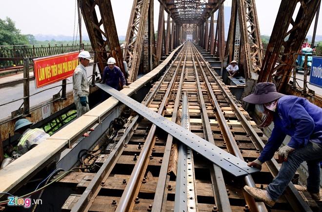 Cầu Long Biên vào đợt đại tu lớn nhất thế kỷ - ảnh 4