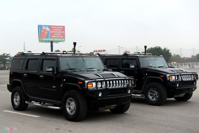 Dàn xe chống khủng bố tham gia bảo vệ Đại hội Đảng - ảnh 3