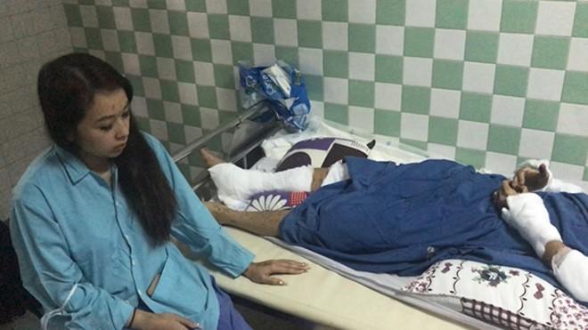 Vụ tạt axit, cắt gân chân Việt kiều: Bất ngờ lời kể của cha nạn nhân - ảnh 4
