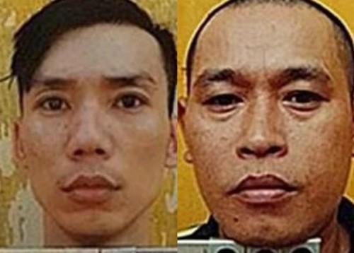 Hai nghi phạm cưa song sắt trốn khỏi nhà giam ở Bình Thuận - ảnh 1