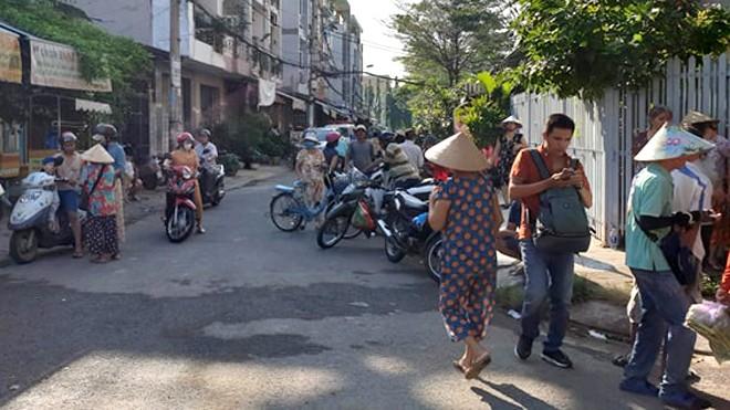 Nghi án phóng hỏa đốt phòng trọ làm 3 người chết ở Sài Gòn - ảnh 1
