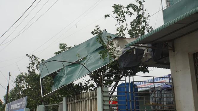 Bão số 9 đổ bộ Quảng Nam - Quảng Ngãi, giật cấp 13 - ảnh 20