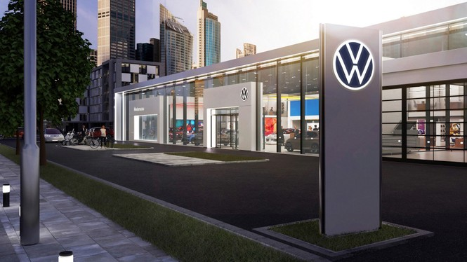 Volkswagen tung ra logo nhận diện thương hiệu mới - ảnh 2
