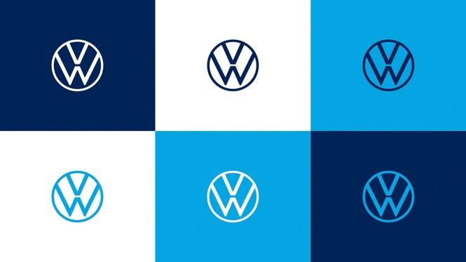 Volkswagen tung ra logo nhận diện thương hiệu mới - ảnh 1