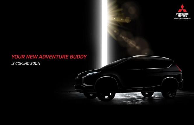 Mitsubishi 'nhá hàng' Crossover MPV mới cho thị trường Indonesia - ảnh 1