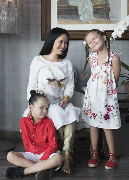 Diva Hồng Nhung: Các con vượt qua sang chấn tâm lý sau ồn ào ly hôn của bố mẹ - ảnh 2