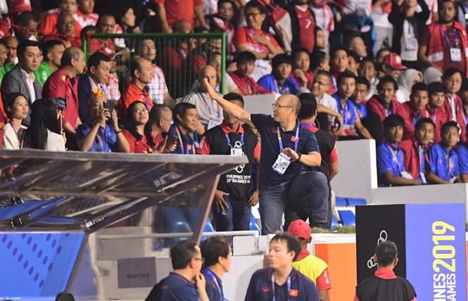 Hình ảnh đáng nhớ của thầy Park trong trận chung kết  - ảnh 11