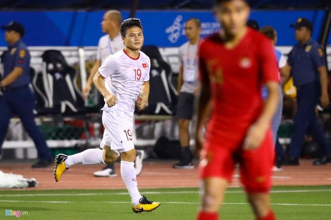Quang Hải chưa kịp ra sân thì trọng tài thổi còi hết trận chung kết - ảnh 6