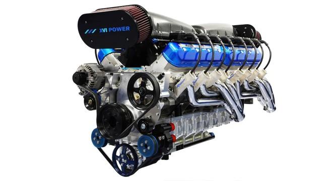 Động cơ khủng V16 14 lít có thể lắp trên ôtô? - ảnh 1